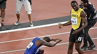 Atletica, Usain Bolt sconfitto negli ultimi 100m della sua carriera: arriva terzo, ai mondiali di Londra vince Gatlin